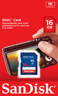 SanDisk SD 8GB 16GB 32GB Flash Memory Card CLASS 4 SDHC for Camera