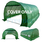 6M X 3M 6 SECTION GREENHOUSE POLYTUNNEL POLY TUNNEL COVER ONLY