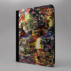 Marvel Superhero iPad PC Leather Flip Case Cover - Collage - S-T0283
