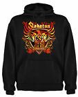 FELPA HOODIE SABATON COAT OF ARMS HEAVY POWER METAL MILITARSIL Msb001