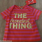 No added sugar baby girl top t-shirt 0-3, 3-6 m BNWT designer sweetest thing