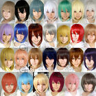Cosplay Wig Perücke kurz short Perruque long Temples lange Kotelette Farbe Basic