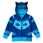 Toddler Boys Animated Show PJ Masks Catboy Blue Zip Up Costume Hoodie