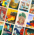 VINTAGE TRAVEL POSTERS - A4 - A3 - A2 - Retro Prints - Home / Wall Art Decor <br/> BUY 2 GET 1 FREE ! - TOP QUALITY - FAST DELIVERY