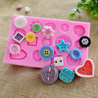 Grass Fences Key Butterfly 3D Lace Pearl Baby Clothes Cake Fondant Baking Moulds