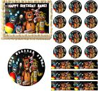 FIVE NIGHTS AT FREDDY'S New Generation Edible Cake Topper Image Frosting Sheet