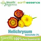 earthessence HELICHRYSUM / IMMORTELLE 3% JOJOBA ~ 100% PURE ESSENTIAL OIL .