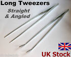 "LONG TWEEZERS 10.5"" Stainless Steel  Marine Reef Coral Aquarium - UK Stock"