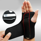 Wrist Support Hand Brace Band Carpal Tunnel Splint Arthritis Sprains Useful