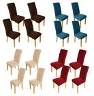 4XSuper Fit Stretch Dinning Room Chair Cover Protector Slipcover Washable Covers