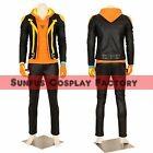 Halloween Men's Pokemon Go Spark Team Leader Instinct Cosplay Costume Game New