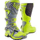 NEW 2017 FOX RACING COMP 5 MX OFFROAD BOOTS YLW/GRY  REED DUNGEY ROCZEN