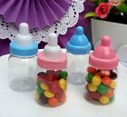 New 12 - 48 Fillable Bottle for Baby Shower Party  Decorations Decor Plastic