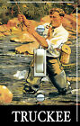 Fly FISH TRUCKEE Vintage Poster (single/double) Switch Plate***FREE SHIPPING***