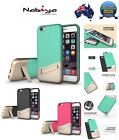 2 Coloured Shockproof kickstand Contrast Cover Case for iPhone 6/6S, 6/6S plus