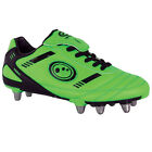 OPTIMUM TRIBAL RUGBY BOOTS - ADULTS SIZES - BNIB FREE POSTAGE GREEN