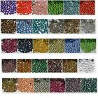 SS6-SS30 32 COLOR Crystal DMC HotFix Iron FlatBack Rhinestones 2,3,4,5,6MM