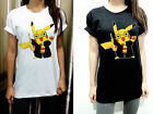 UNISEX Pokemon Pikachu Harry Potter WomensStreet T Shirt Tshirt Short Sleeve