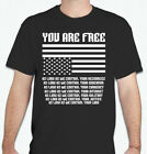 YOU ARE FREE... As long as we control EVERYTHING  Anarchy anarchist T shirt