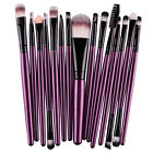 15 pcs 1 Sets Eye Shadow Foundation Eyebrow Lip Brush Makeup Brushes
