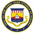 Seal Of Panama Canal Zone Sticker / Decal R731