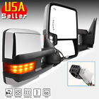 For 02-08 RAM 1500 03-09 2500 3500 Tow Extend Flip Up Power+Heated Mirrors LH RH