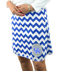 Chevron Kentucky Wildcats Blue Gameday A Line Striped Yoga Women Skirt XS ~ XL