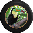 Keel Billed Toucan Bright Beak Jeep RV Camper Spare Tire Cover