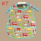 Baby Bebe Infant Cute Boy Girl Waterproof Bibs Saliva Towel Feeding Burp Cloth W