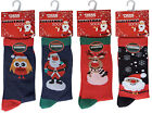 NEW BIG SIZE NOVELTY CHRISTMAS STOCKING FILLER SOCKS 12 13 14 15 15 SANTA