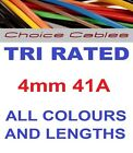 4mm Tri Rated Cable 4.0mm Automotive Cable, 240v Cable, 12/24v Auto Charging