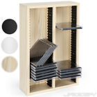 CD DVD Stand Shelf Storage Rack Wall Mountable Media Organiser Unit for 60 CDs