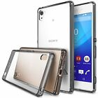 For Sony Xperia Z3 Plus | Ringke [FUSION] Clear Shockproof Protective Cover Case