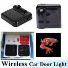 1Pair LED Car Door Light Wireless Projection Lamp Welcome Ghost Shadow Light Bat