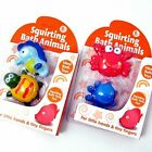 Bath Toy Kids Squirting Sea Animals Age 3+ Pack of 2