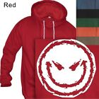 MEN'S PULLOVER HOODIE  SMILING FACE - #157- S to 4XL PLUS