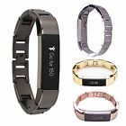 Luxe Adjustable Stainless Steel Metal Wrist Band Strap Bracelet For Fitbit Alta