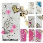 US Bling Diamond Wallet PU Leather Stand Case  Cover for ZTE ZMAX Pro Carry Z981