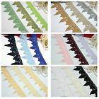 """2.75"""" Green Blue Black Lilac Pink Navy Gray White Maroon Gold Venice Lace"""
