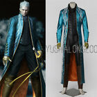Devil May Cry 3 Spiel Cosplay Kostüm Halloween Costume Outfit Vergil Gilver neu