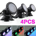 4x Submersible 36Led Fish Tank Pool Pond Underwater Aquarium Spotlight Lighting