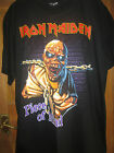 IRON MAIDEN  T SHIRT,PIECE OF MIND,LARGE.REO,ROCK OF THE TSHIRTS