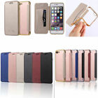 UltraThin Fashion Leather Soft Wallet Card TPU Case Back Cover For APPLE/Samsung