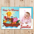 Personalised Girls Boys 1st First Animal Happy Birthday PHOTO Poster Banner N91