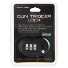 COMBINATION TRIGGER LOCK AIR RIFLE SHOTGUN PISTOL CROSSBOW 2 KEYS ANGLO ARMS
