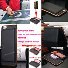 Luxury Leather Wallet Card Holder Flip Case Cover For Apple iPhone 6 6s Plus