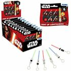NEW Star Wars Light Up Key Chain Sabers Lightsaber Blind Bags