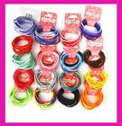 10 Pcs Kids Girls Elastic Hair Tie/Hair Band For Ponytail In 16 Colors
