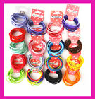 10 Pcs Kids Girls Elastic Hair Tie/Hair Band For Ponytail Mixed Color