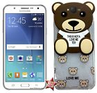 CUSTODIA COVER TPU ORSO TEDDY TOY per SAMSUNG GALAXY GRAND PRIME G531H + VETRO
